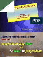 materi+Metodologi+Penelitian+Pendidikan