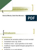 Cancere Digestive - 2013