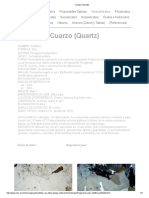 Cuarzo (Quartz)