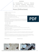 Ortosa (Orthoclase)