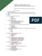 Examen Bimestral de Formación Ciudadana y Civica