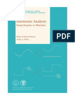 Harmonic Analysis Fourier Wavelet Pereyra Ward