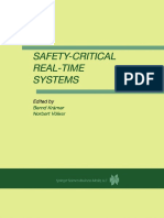 [Antonino Mazzeo, Nicola Mazzocca, Stefano Russo] - Safety Critical Real-Time Systems
