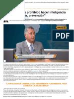 Articulo Prohibido La Inteligencia en La Investigacion