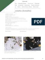 Sodalita (Sodalite)