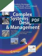 [Frédéric_Boulanger,_Daniel_Krob,_Gérard_Morel] - Complex Systems Design & Management 2014