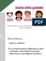 PPT Violencia Hacia Las Mujeres