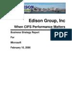 When CIFS Peformance Matters