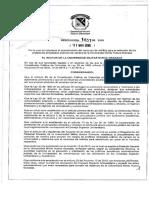 Resolucion 1651- Procedimiento Del Concurso de Meritos-2018