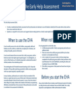 Early Help Assessment Factsheet