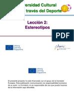 L2 Estereotipos 3.2