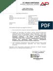Surat Pernyataan Kebenaran Dokumen