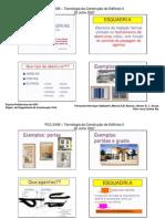 PCC 2436 - aula 1 2007 - esquadrias