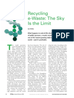 E-waste Sky is the Limit