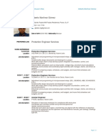 Gilberto Mtz - Resume
