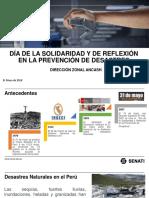 Día de La Solidaridad y de Reflexión en La Prevención de Desastres