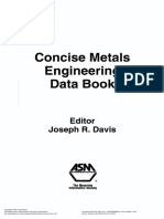 Concise Metals Engineering Data Book 1997