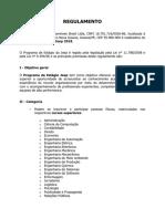 Regulamento Programa Estagio Jeep 2018