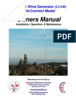 Important ARE110 Owners Manual Draft May-02-06