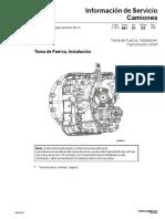 Instalación de La Toma de Fuerza  I-SHIFT - PV776-89092322SPAMX