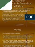 5. Cumplimiento de Sentencias en El Extranjero