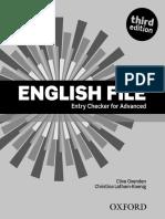 EF Advanced Enrty Checker