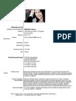 CV Mónica Marques