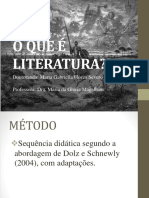 Aula - O Que é Literatura