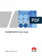 HUAWEI WATCH Manual Del Usuario 01 Spanish