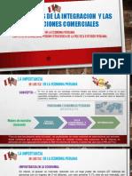 Importancia de Los Tlc en La Economia Peruana