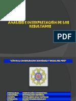 Analisis e Interpretacion de Los Resultados