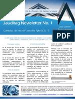 Cambios de Las NIIF Para Pymes 2015 Jauditag