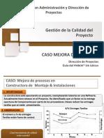 Caso Constructora Montaje & Instalaciones
