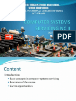 Introduction - Computer Systems Servicing Nc II