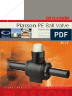 Plasson PE Ball Valve