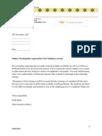 Edpm Letter #3