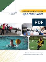 Universiteit Gent Sportbrochure