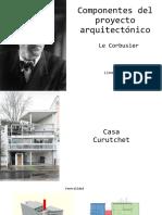 Componentes Del Proyecto Arquitectonico