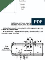 Puccini - Tosca Vocal Score [1]