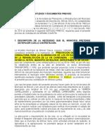 ESTUDIO PREVIO CONTRATACION CONSULTORIA