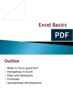021 Excel Basics