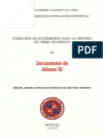 Documentos de Alfonso Xi 0