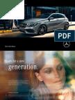 Mercedes-Benz A Class Catalogue 2015
