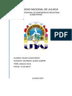Universidad Nacional de Juliaca Dilatacion Lineal