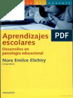 Elichiry (Ed.), Aprendizajes Escolares