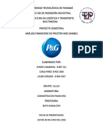 Analisis Financiero P&G 2016