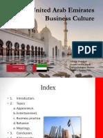United Arab Emirates Business Culture