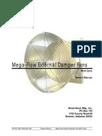 4801-5402 Mega Flow ED Fan Cone Installation Rev 2-09