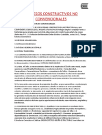 Procesos Constructivos No Convencionales