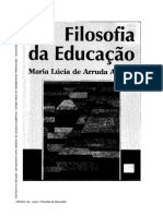 Filosofia da Educação - Maria Lúcia Aranha.pdf
